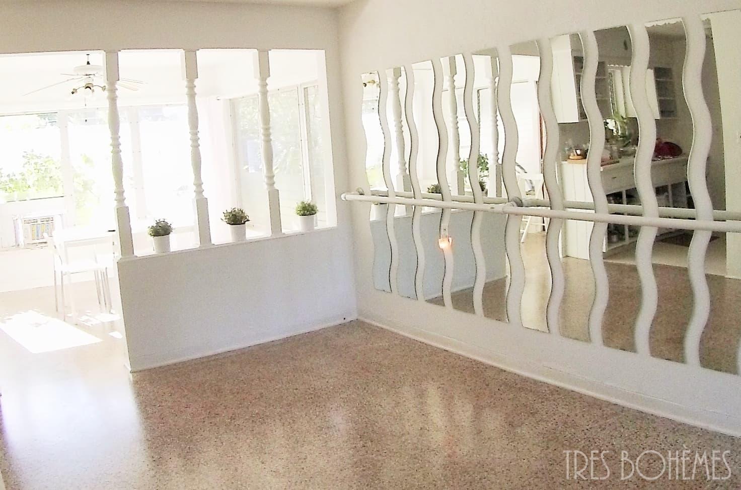 Dining Room Turned Ballet Dance Room | Tres Bohemes