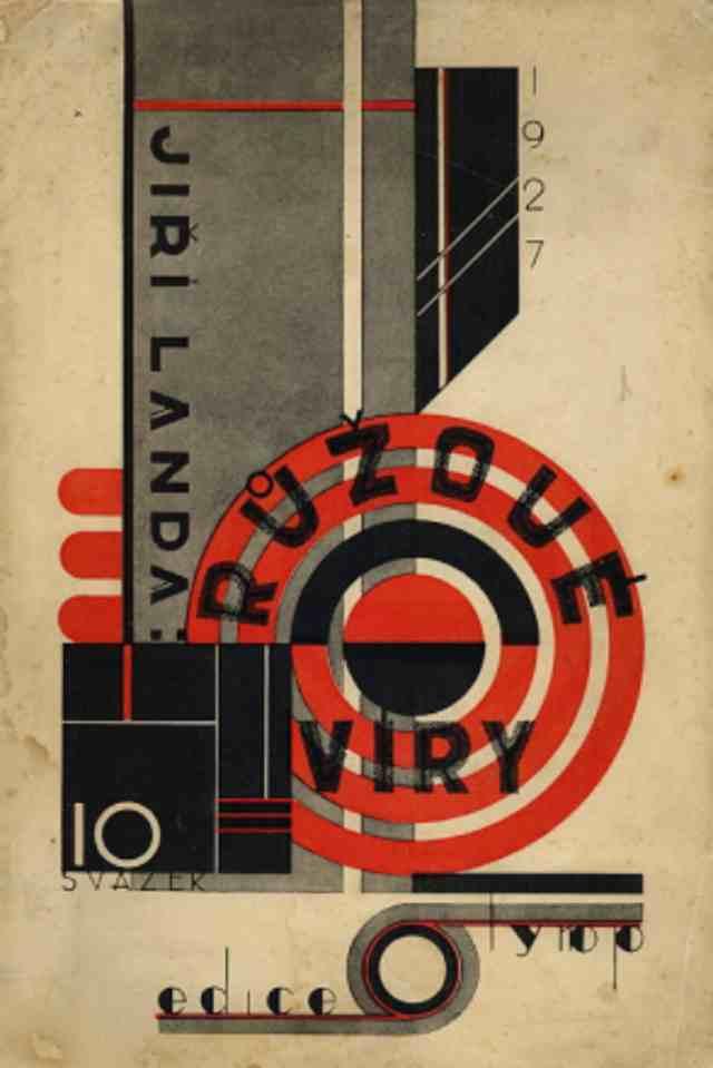 Czech-Avant-Garde-Poetism-Jiri-Landa-Ruzove-viry