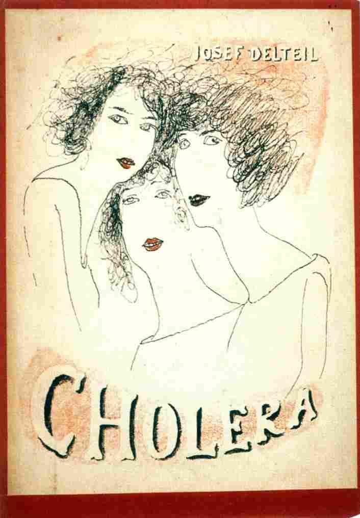 Czech-Avant-Garde-Poetism-Josef-Síma-Cholera