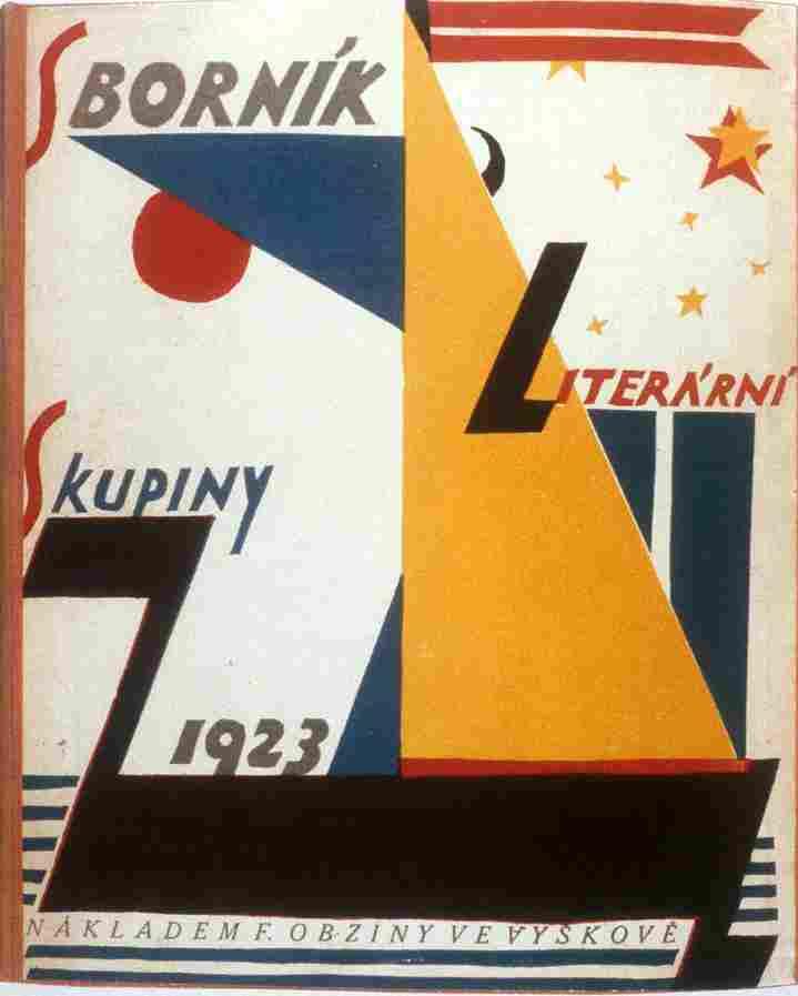 Czech-Avant-Garde-Poetism-Petr-Pistelka-Sbornik-Literarni-skupiny