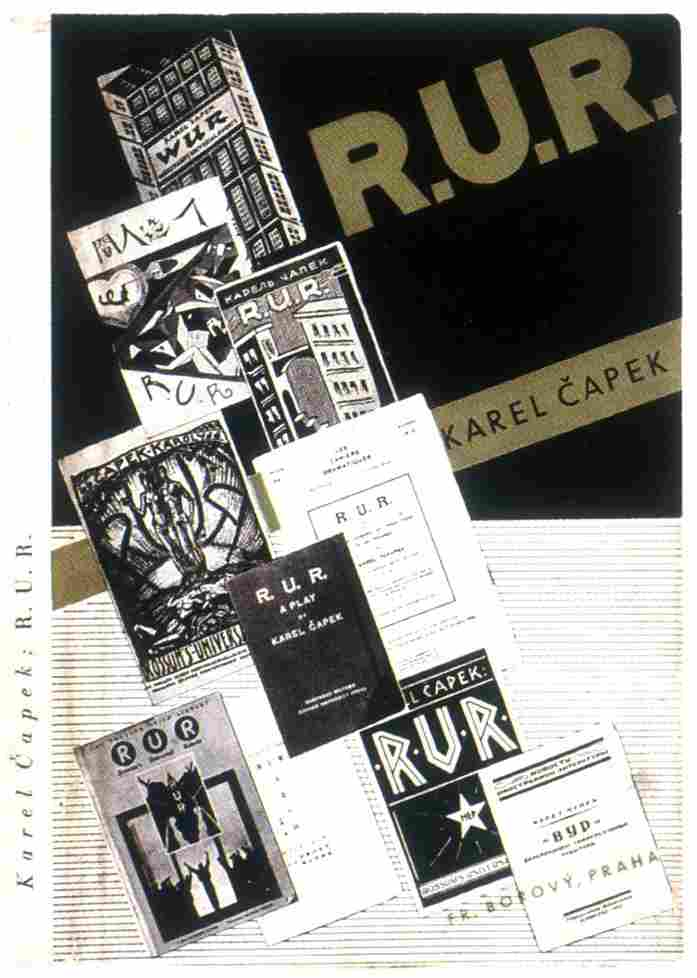 Czech-Avant-Garde-Frantisek-Muzika-RUR-Karel-Capek
