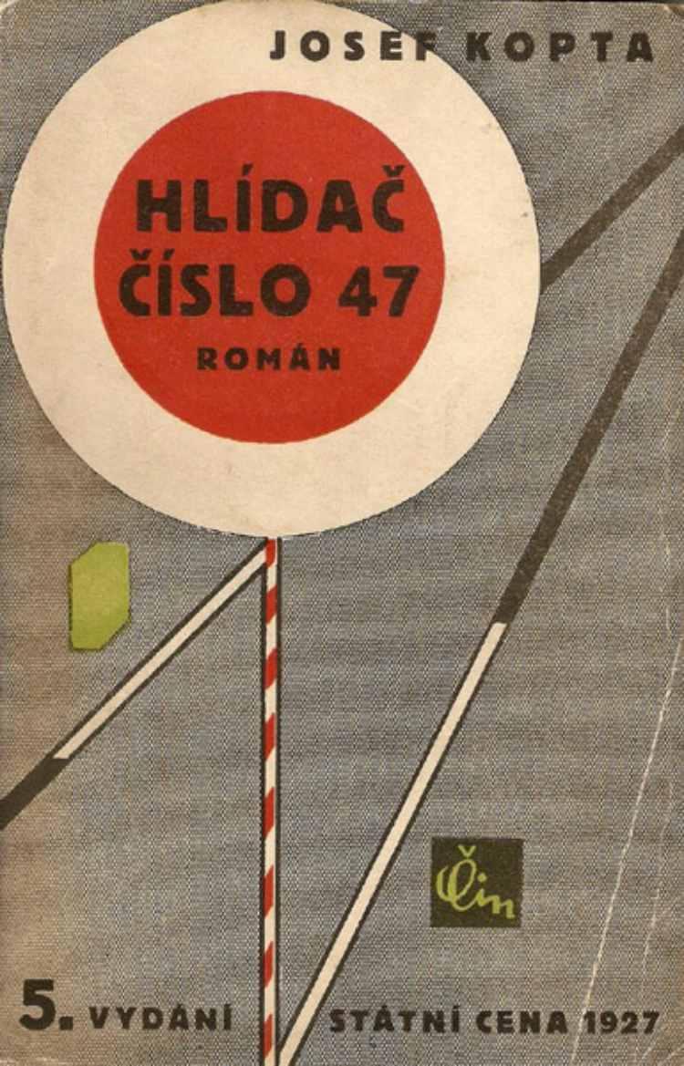 Czech-Avant-Garde-Josef-Kopta-Hlidac-cislo-47