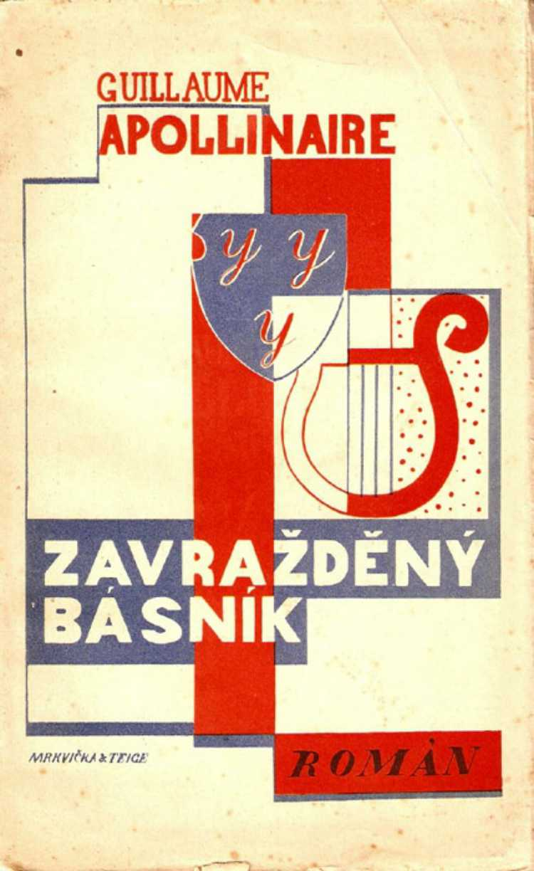 Czech-Avant-Garde-Karel-Teige-Otakar-Mrkvicka-Zavrazdeny-basnik