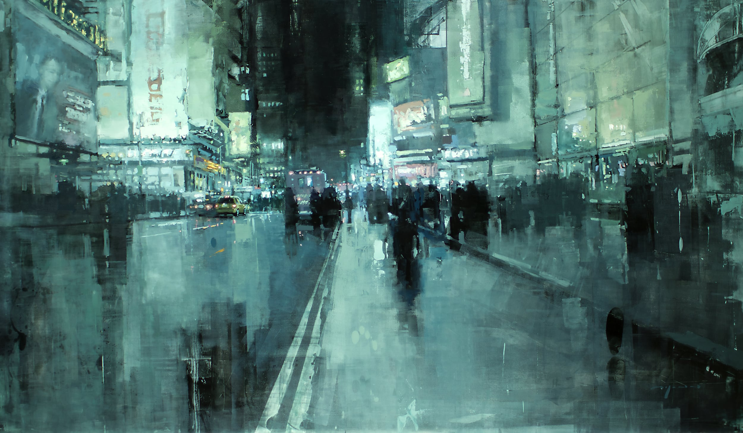 7th-Avenue-Night-Jeremy-Mann-Tres-Bohemes