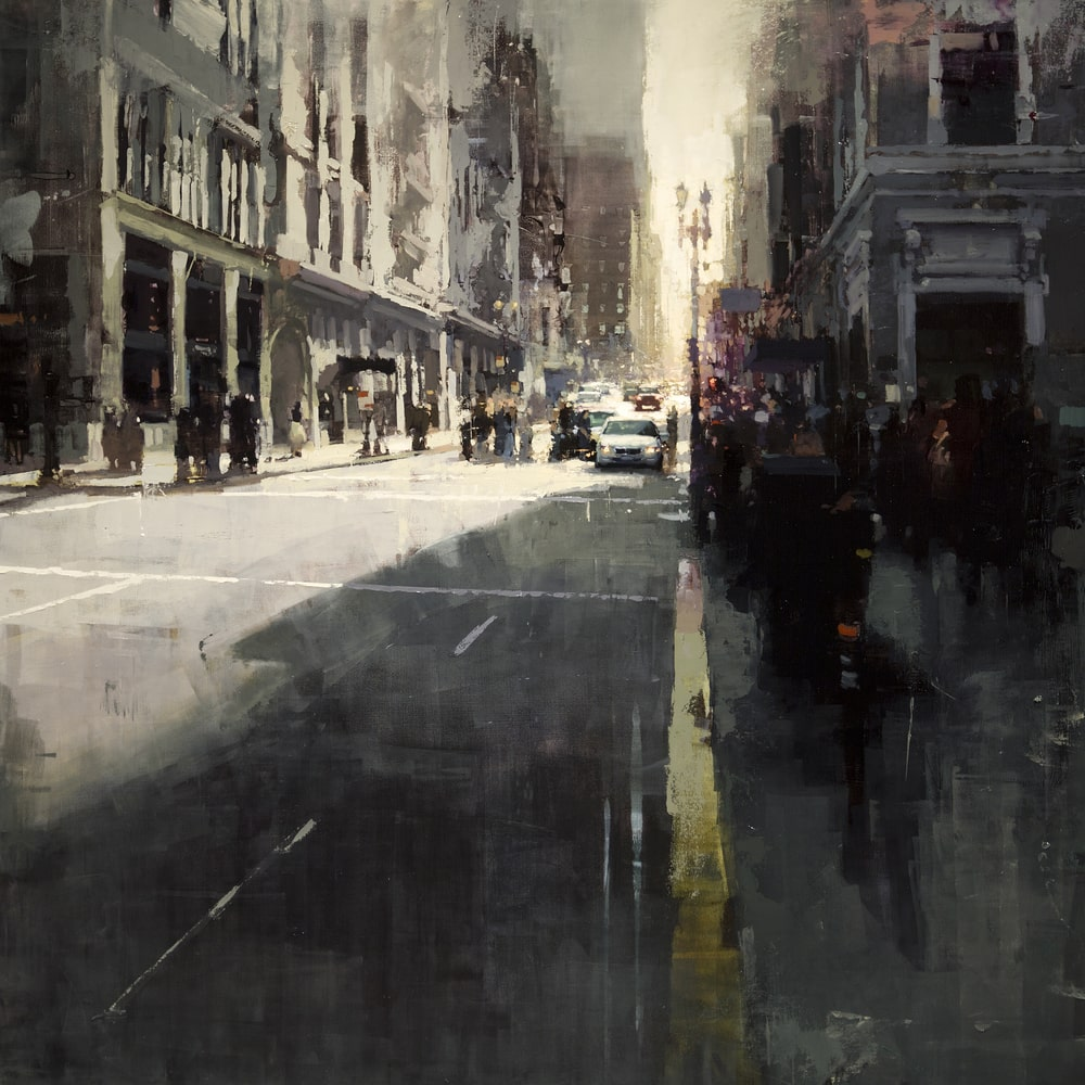 Sunset-by-Union-Square-Jeremy-Mann-Tres-Bohemes