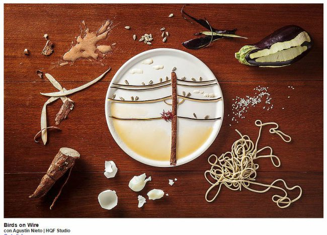 Birds-on-a-wire-Food-Art
