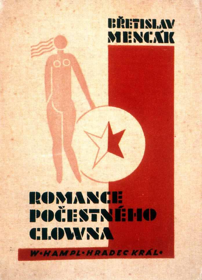 Czech-Avant-Garde-August-Tschinkel-Romance-pocestneho-clowna-1929