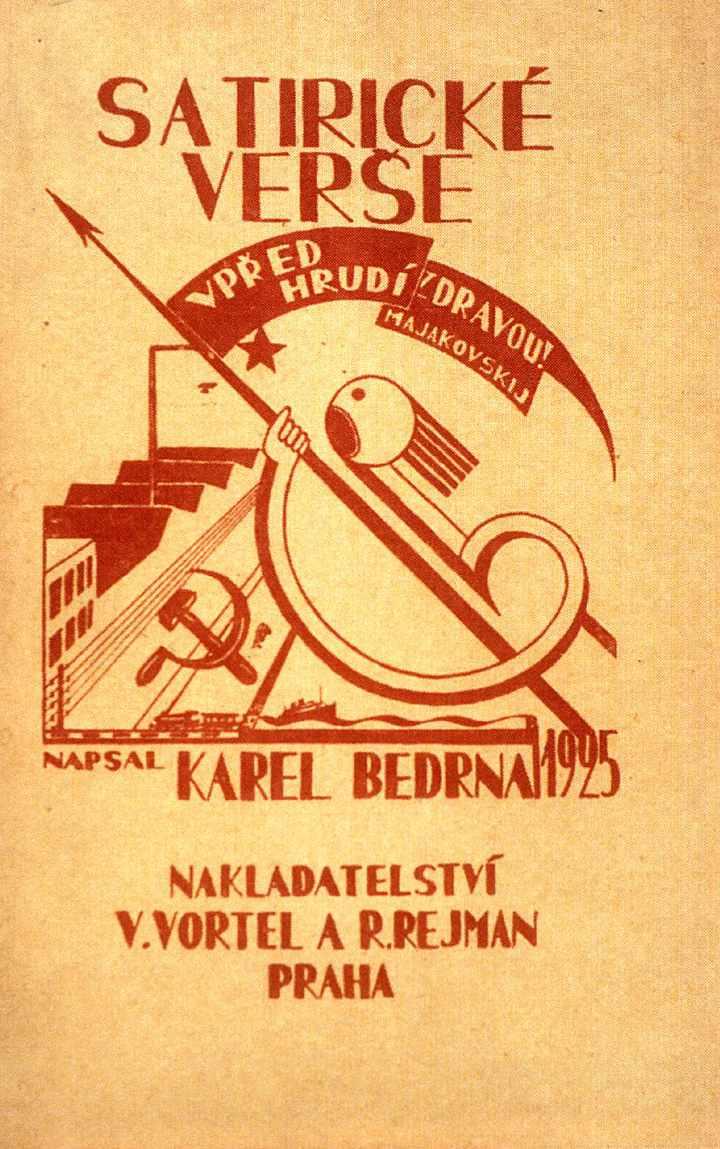 Czech-Avant-Garde-Poetism-Karel-Bedrna-for-Satiricke-verse