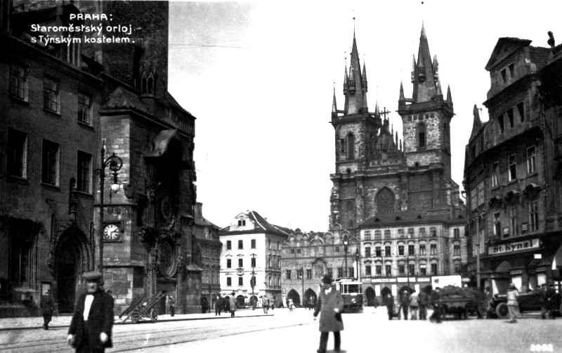 Czech-Bohemia-Prague-Staromestsky-orjol-postcard