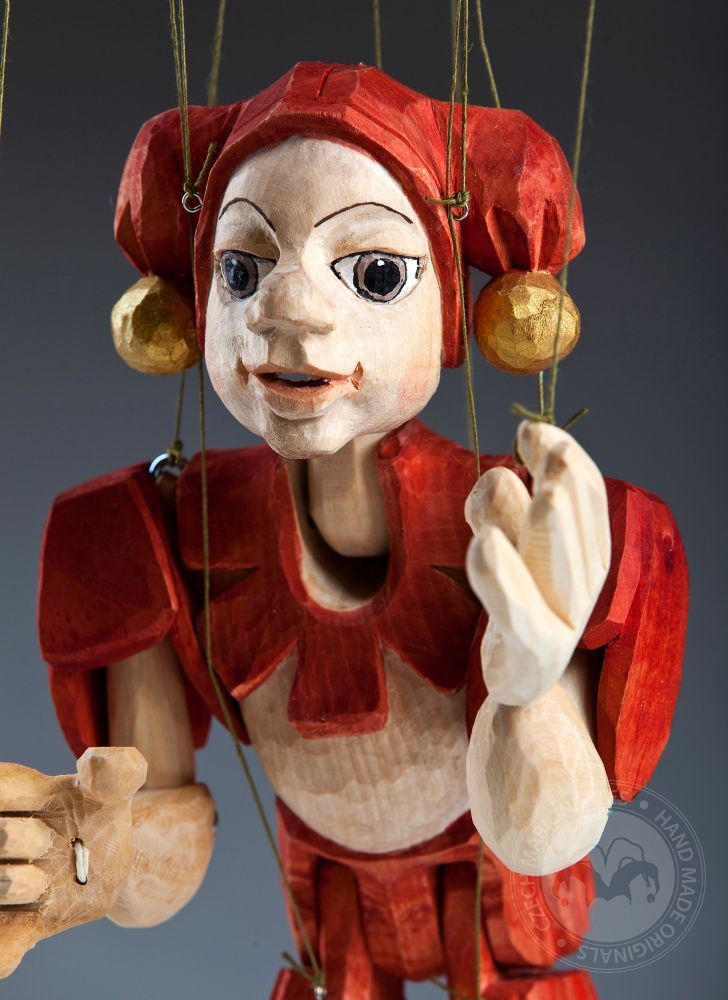 Czech-Marionette-Clown-Tres-Bohemes