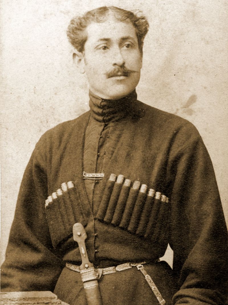 David Gamkrelidze taken before 1899.