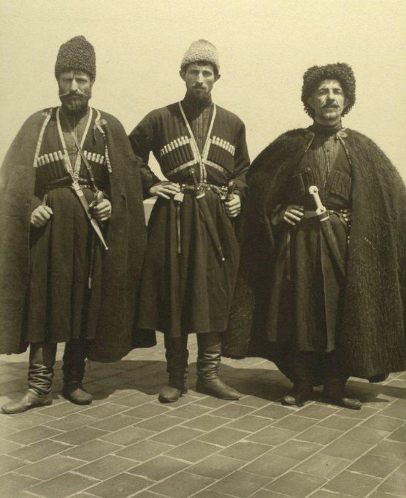Georgian-Russian-Cossacks-in-1906