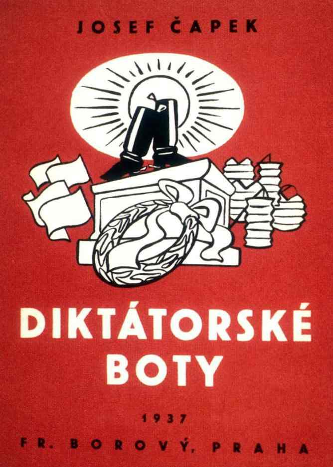 Czech-Avant-Garde-Josef-Capek-Diktatorske-boty-1937