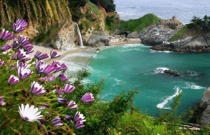 Pacific-Coast-Highway-Big-Sur-McWay-Falls