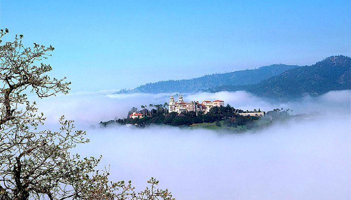 Pacific-Coast-Highway-Hearst-Castle-Fog