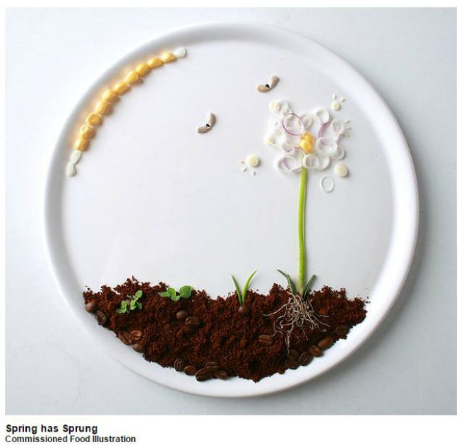 Spring-Has-Sprung-Food-Art