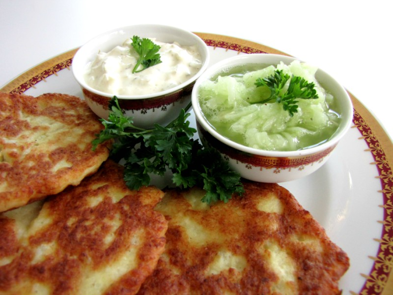 Cauliflower-Patties-and-Cucumber-Salad-1