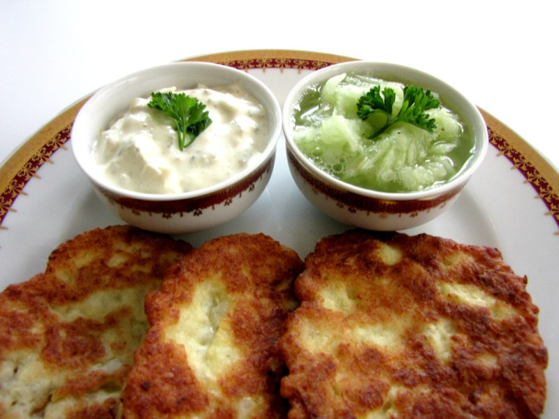 Cauliflower-Patties-and-Cucumber-Salad-6