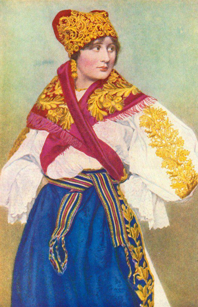 Czech-girl-in-folk-clothing