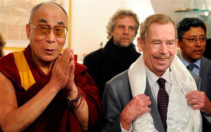 Dalai-Lama-Vaclav-Havel