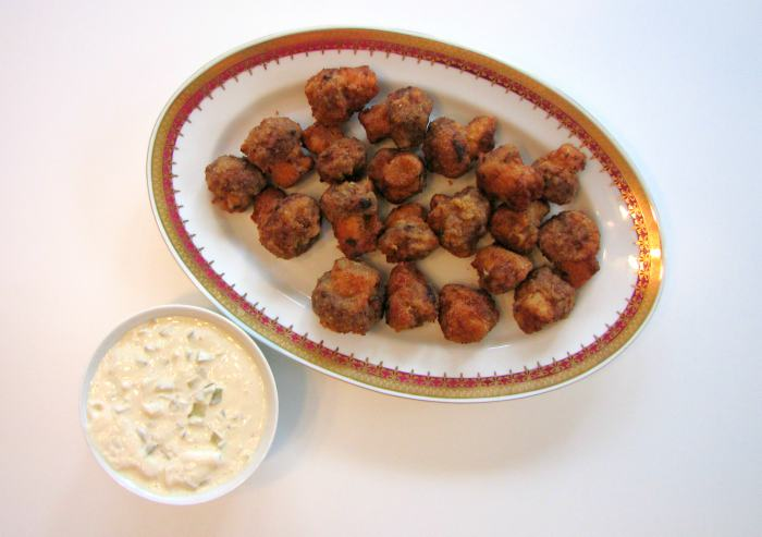 Fried-Mushrooms-Recipe-with Tartar-Sauce-1