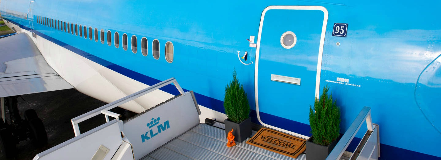 KLM-airbnb-airplane-apartment