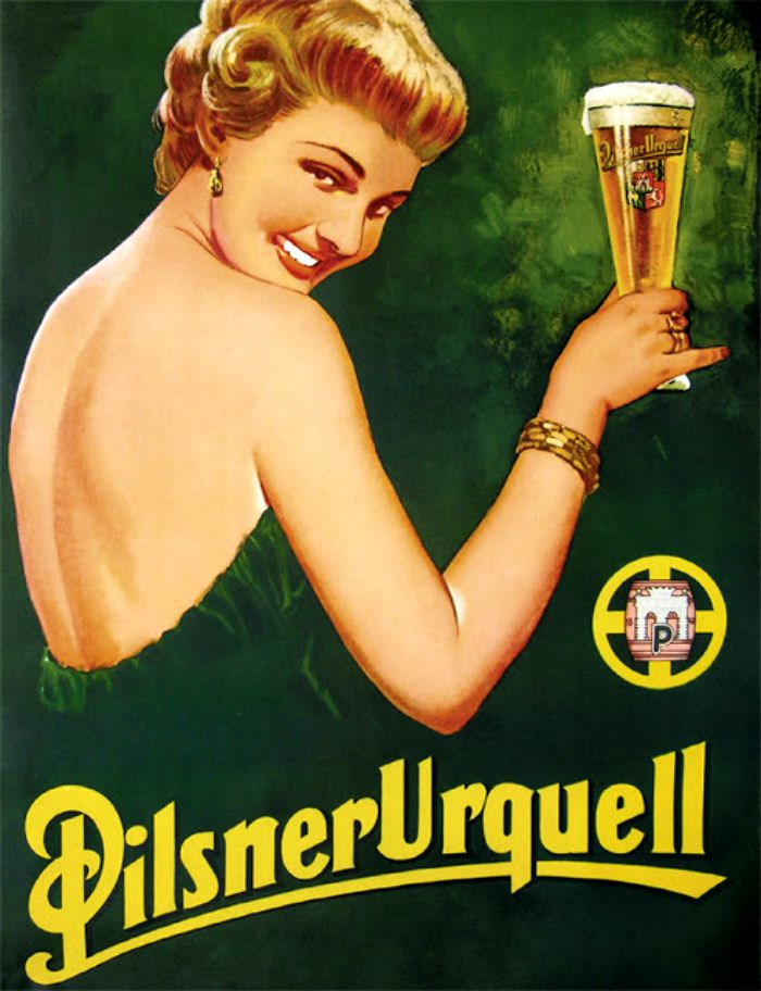 Pilsner-Urquell-ad-by-Bohumil-Konecny
