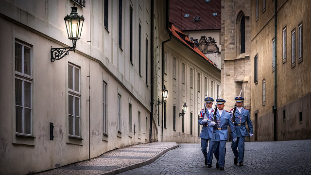 Prague-Castle-Guards