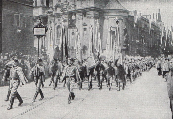 Sokols-marching-through-Prague-1913
