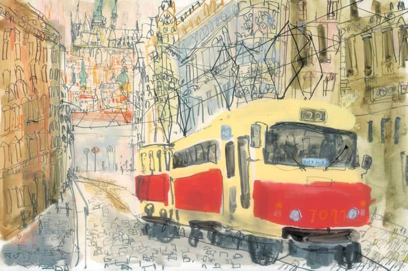 Bila-Hora-Tram-Prague-Clare-Caulfield-Tres-Bohemes