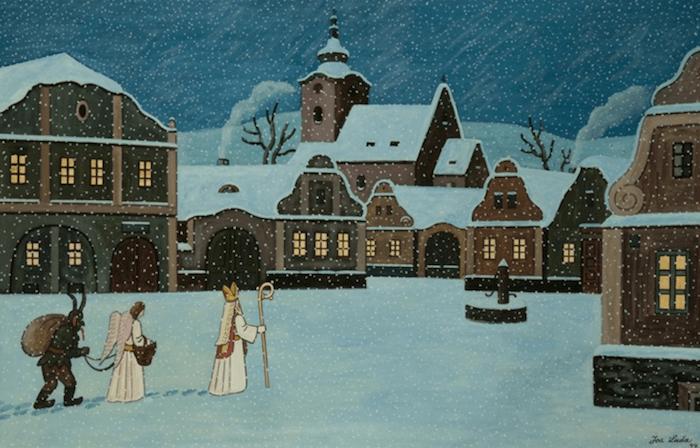 Christmas-Cards-Josef-Lada-Tres-Bohemes