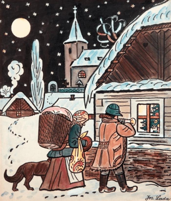 Christmas-Josef-Lada-Tres-Bohemes