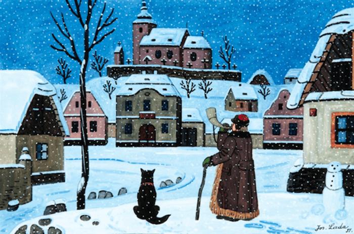 Holiday-Cards-Josef-Lada-Tres-Bohemes