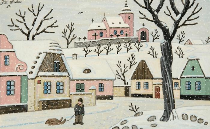 Josef-Lada-Christmas-Cards-Tres-Bohemes