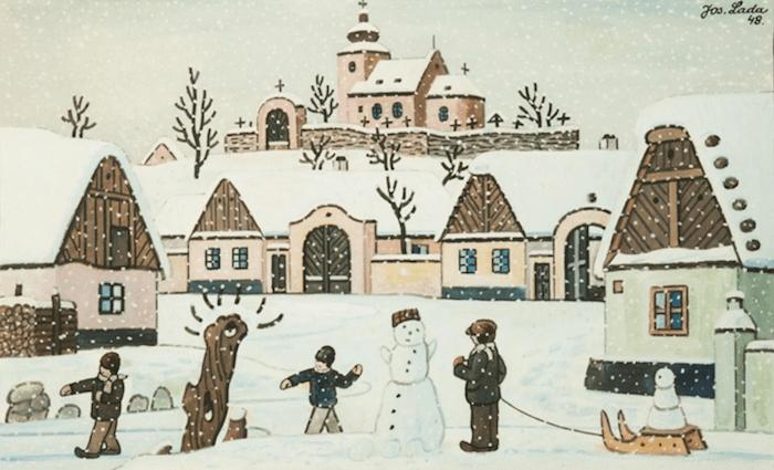 Josef-Lada-Winter-Wonderland-Tres-Bohemes