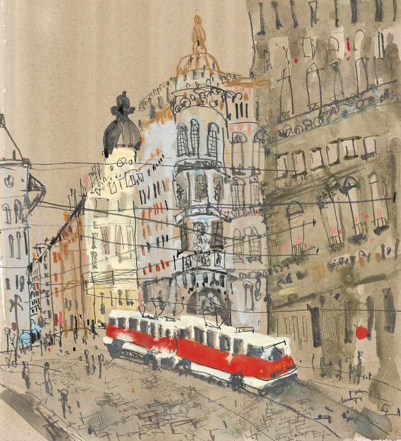 Prague-Illustration-Clare-Caulfield-Tres-Bohemes