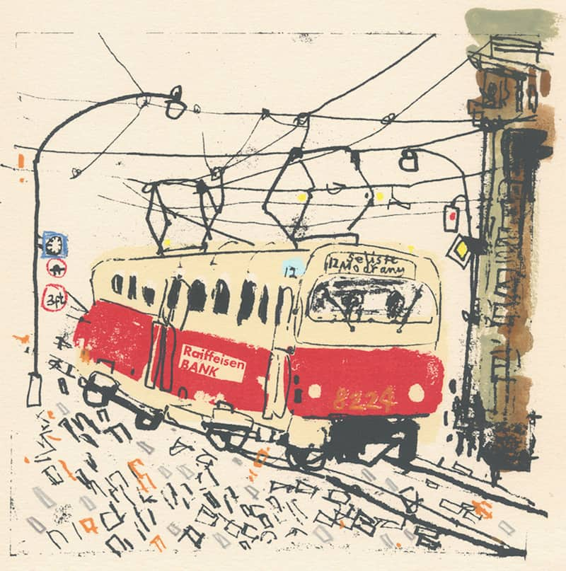 Prague-Tram-Clare-Caulfield-Tres-Bohemes