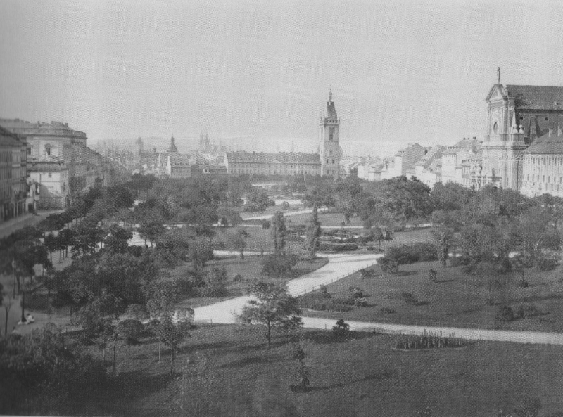 Charles Square in 1875