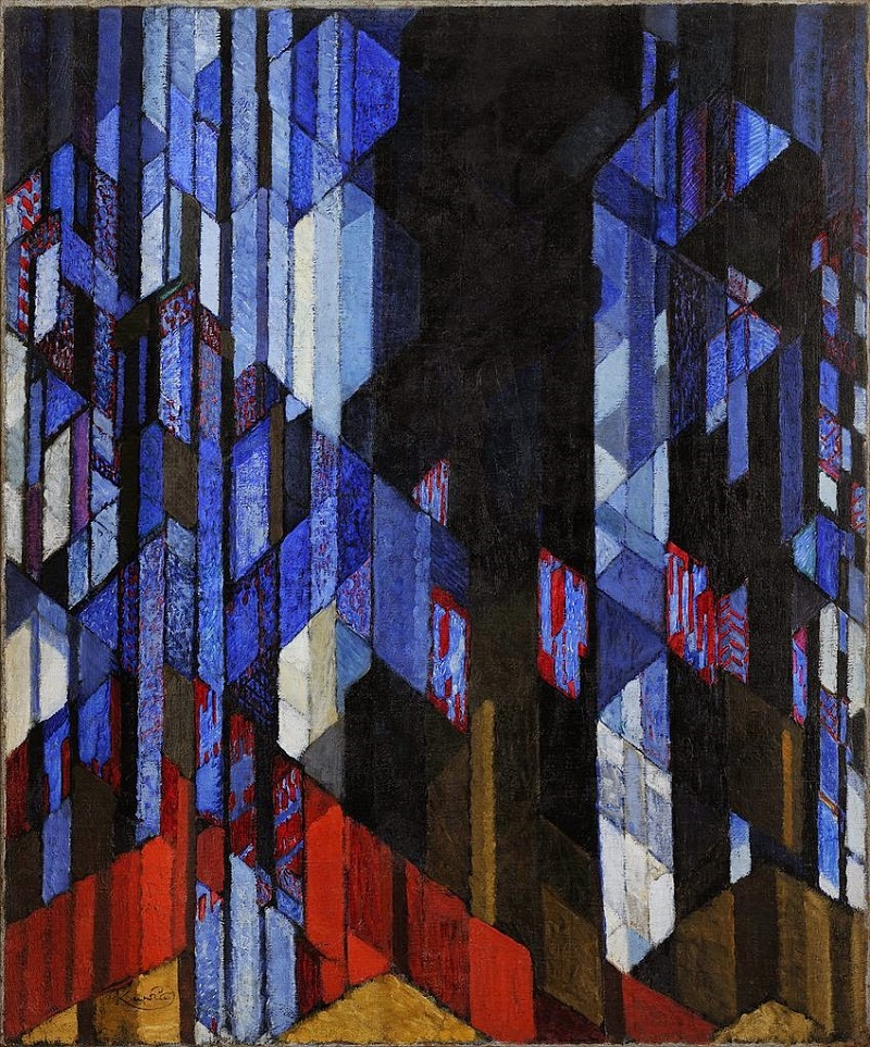 Kupka: The Cathedral (Katedrála) c. 1912–13.