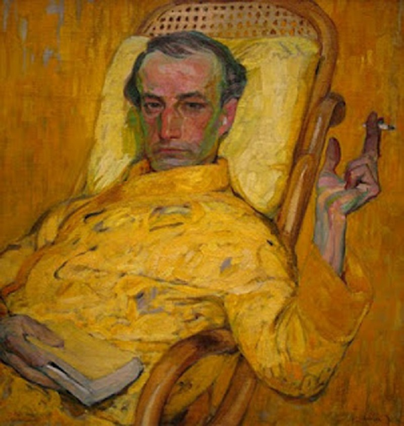 Frantisek Kupka: The Yellow Scale, c. 1907.