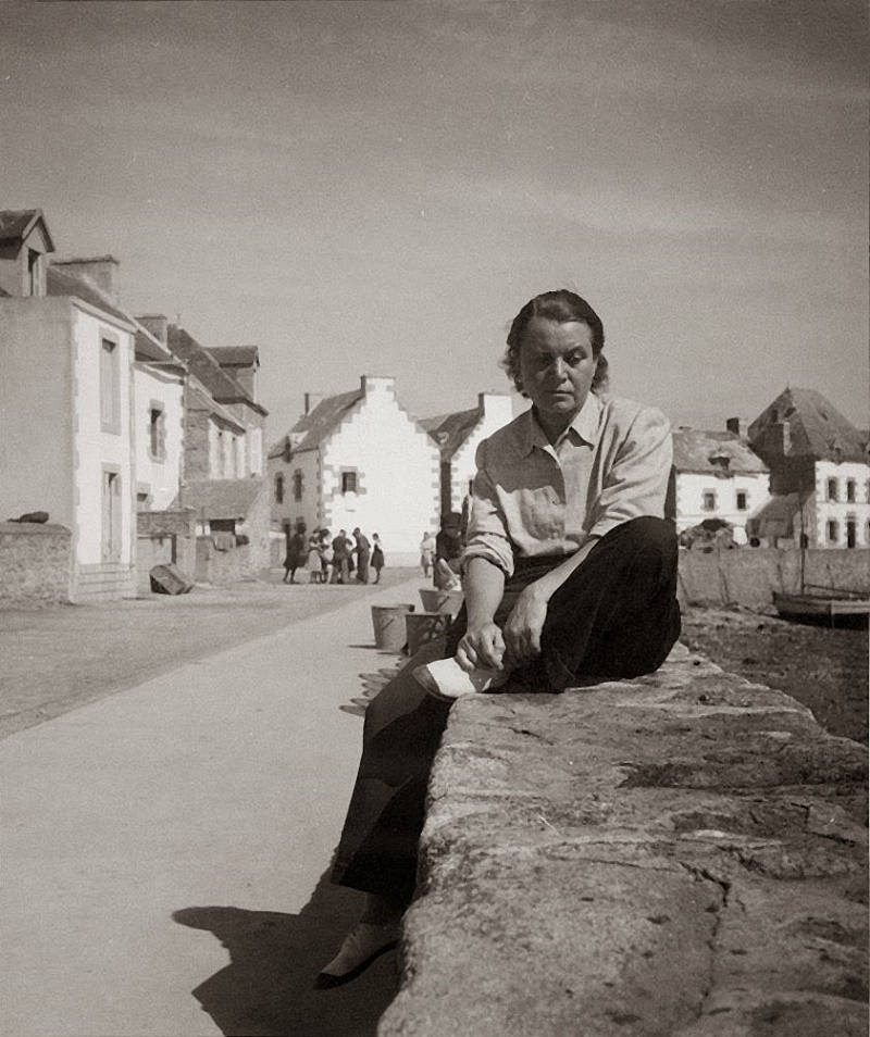 Toyen (b. Marie Čermínová), France, 1950's, by André Breton