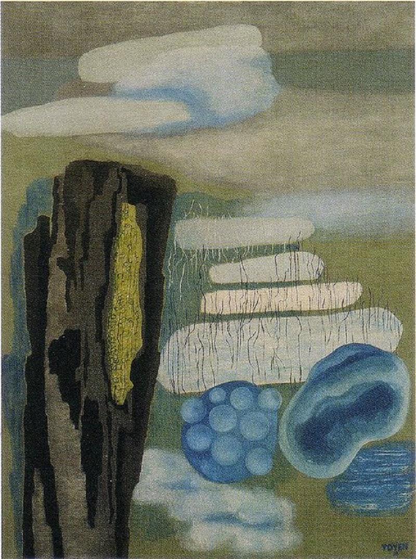 Toyen c. 1933, In the Fog.
