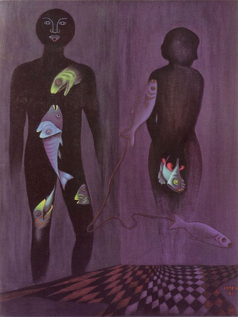 Toyen c. 1968, Eclipse.