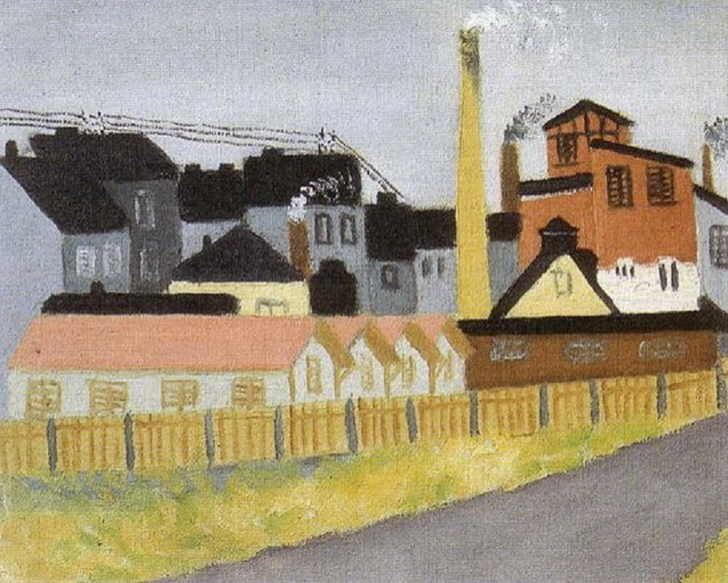c. 1920, Factory.