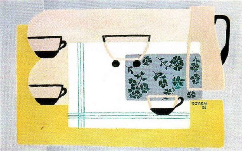Toyen c. 1923, Cups.