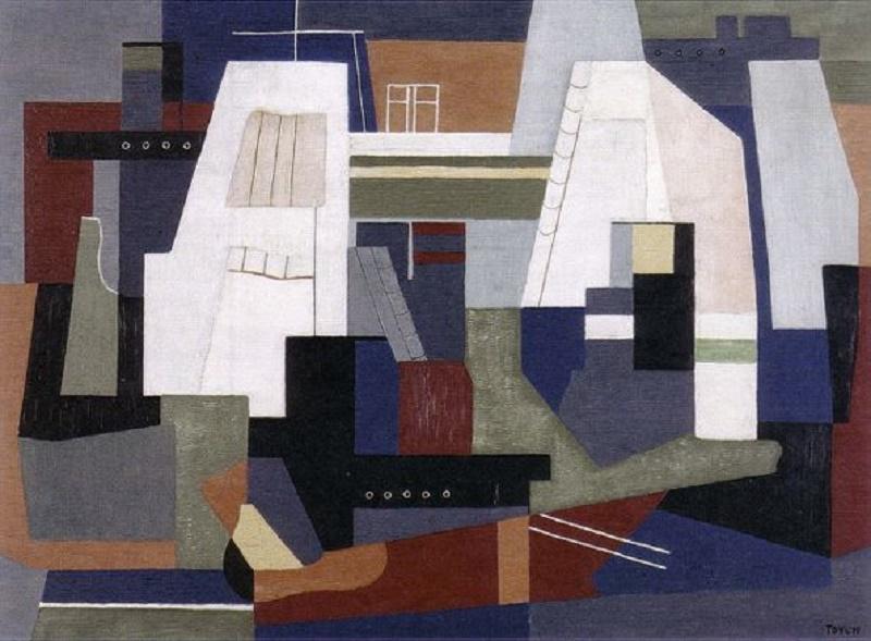 Toyen c. 1925, Port.
