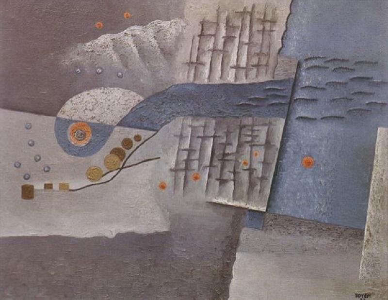 Toyen c. 1927, Aquarium.