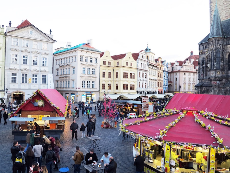 prague easter market