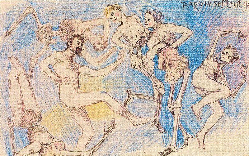 c. 1896, Danse Macabre