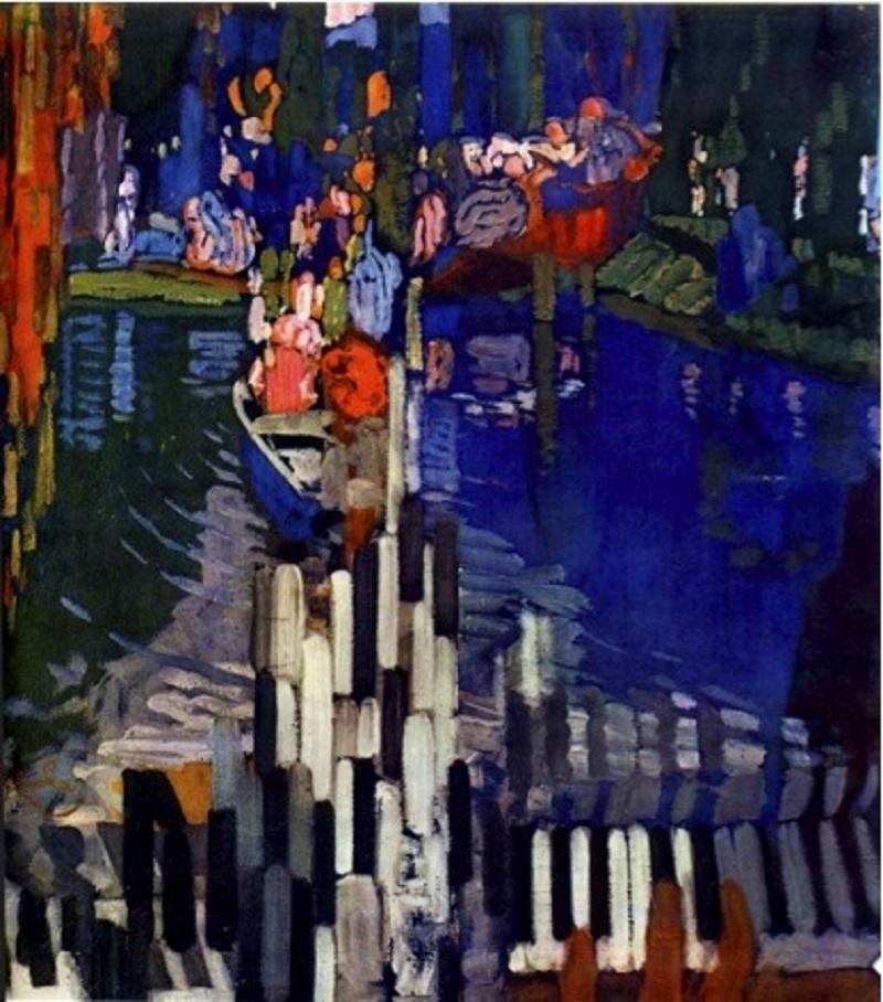 c. 1909, Piano Lake